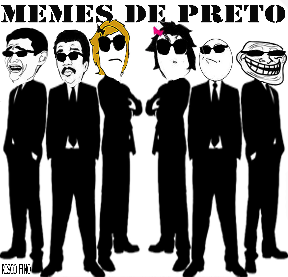 Memes de preto