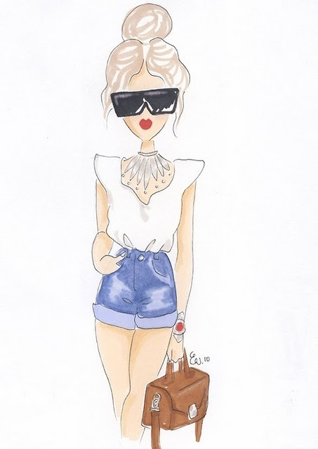 2020 Other Images Fashion Girl Sketches Tumblr