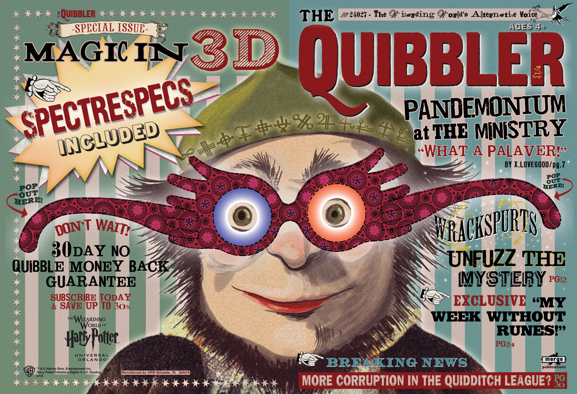 Quibbler Cover Pin The Quibbler Harry...