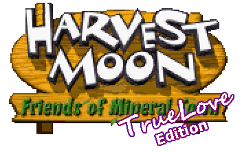 Harvest Moon Friends Of Mineral Town True Love Edition V4