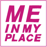 Me In My Place ® - beautiful women at home Logo