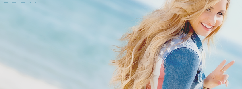 Capas para facebook - Demi Lovato