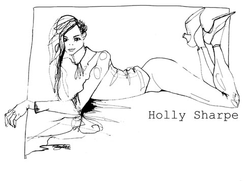 Holly Sharpe Drawings