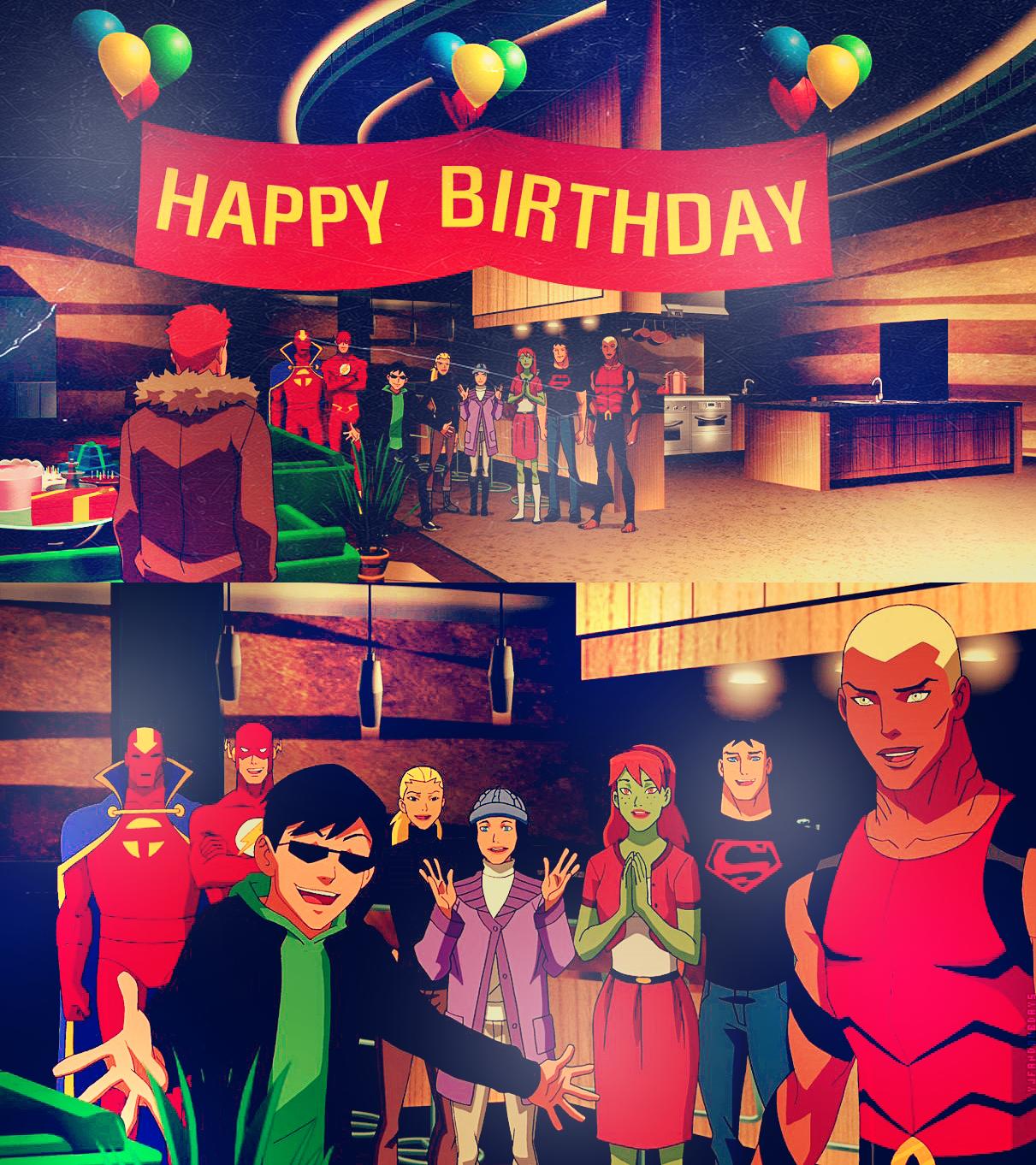 Young Justice Fandom Birthdays