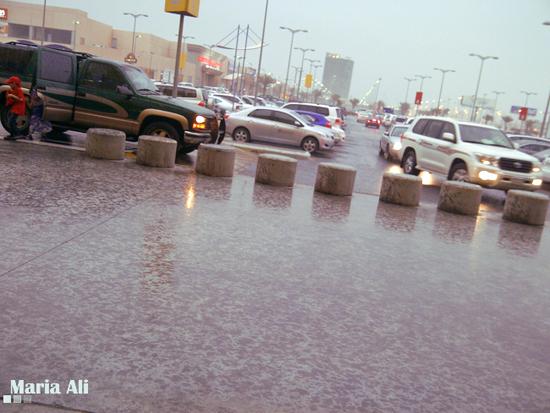 امطار السعودية 2012