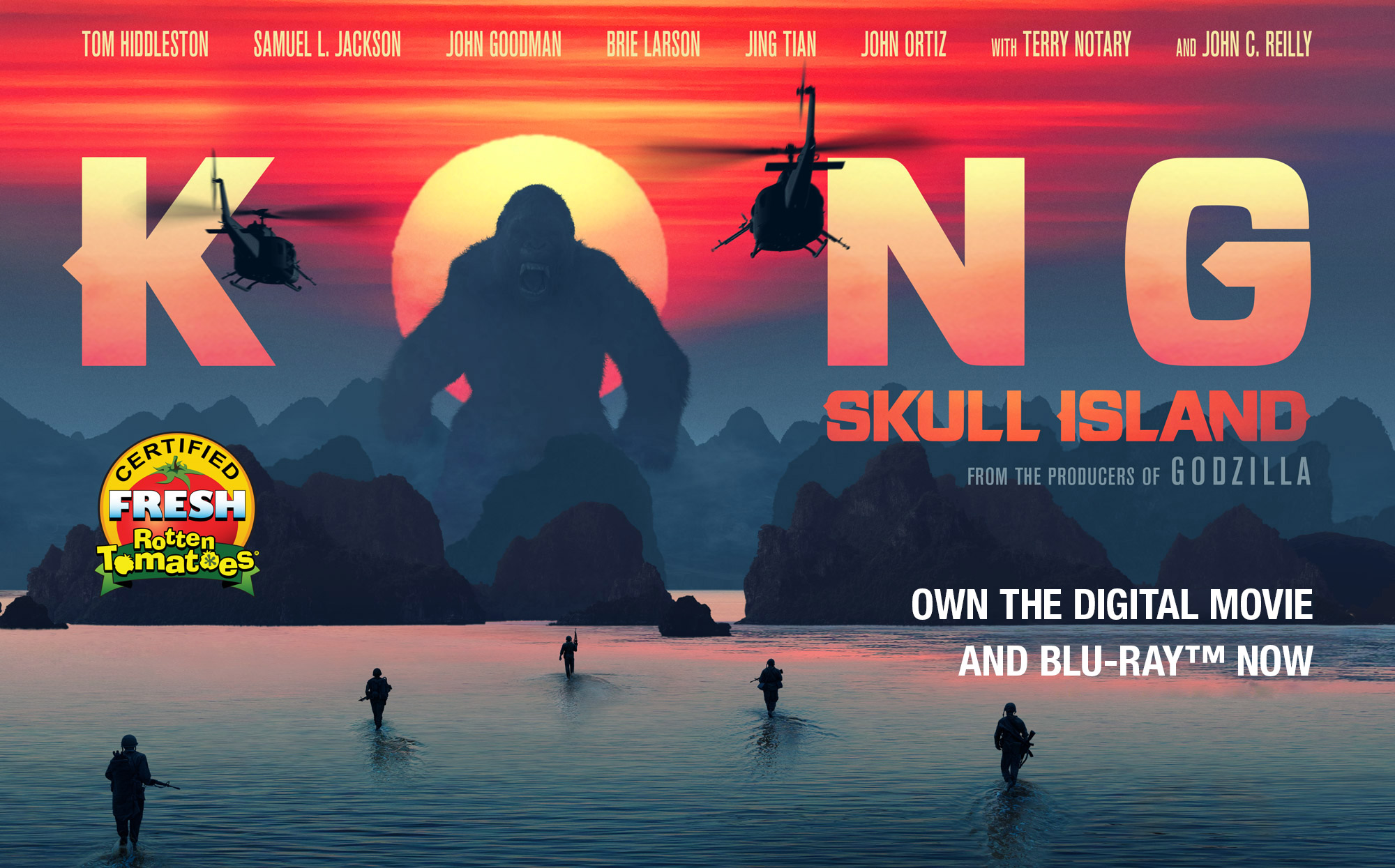 Kong Skull Island Official Movie Site Own The Digital Movie And