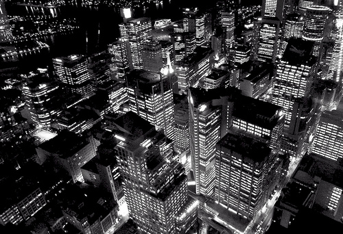 Black and White Photography/City Lights/Kpop