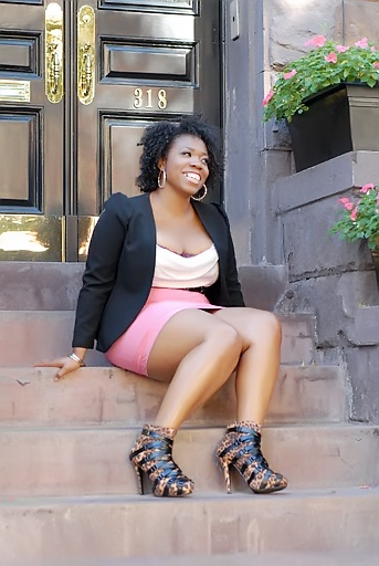 Karima Renee... The Curvy Girl With The Hot Shoes!