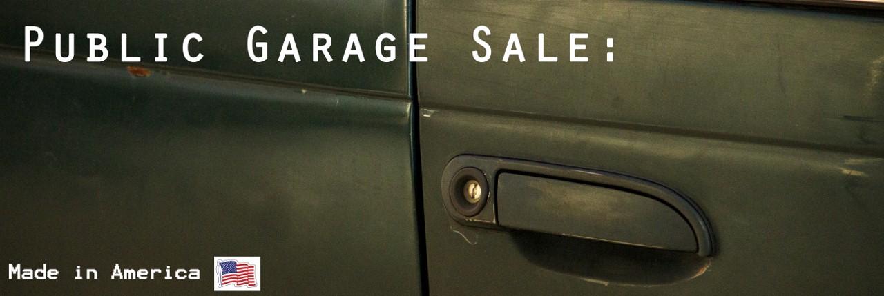 Public Garage Sale