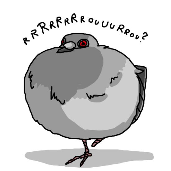 Somme nous des pigeons playstation forum - Dessin de pigeon ...