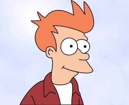 What cartoon character would you be? Fry
