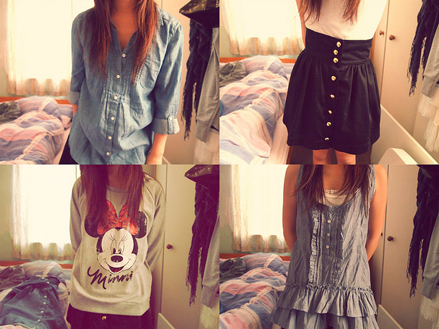express yourself through fashion