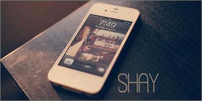 Telemóvel da Shay Large