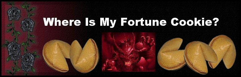 Where Is My Fortune Cookie?
