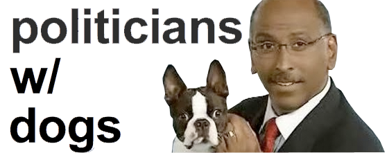 politicians with dogs