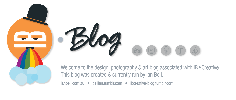 Ian Bell Creative • Blog
