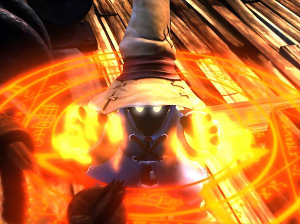 Final Fantasy 9 Wallpaper: A Cool Picture Of The Black Mage. [Final Fantasy IX] : Gaming
