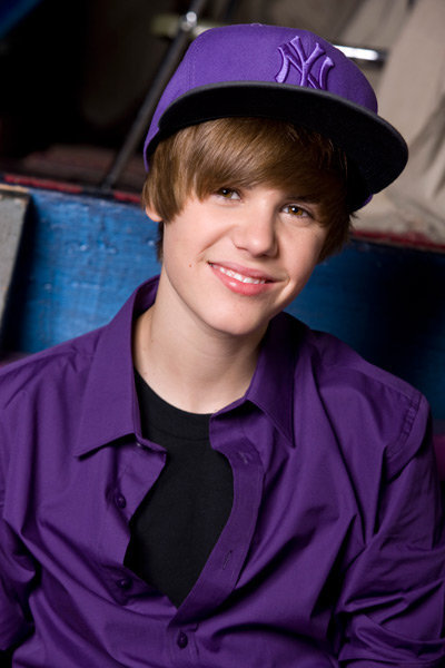 justin bieber in purple. ONLY Justin Bieber related