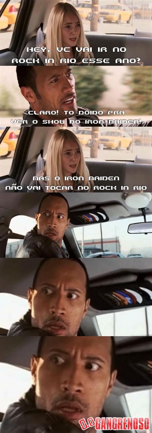 ROCK IN RIO SEM IRON MAIDEN