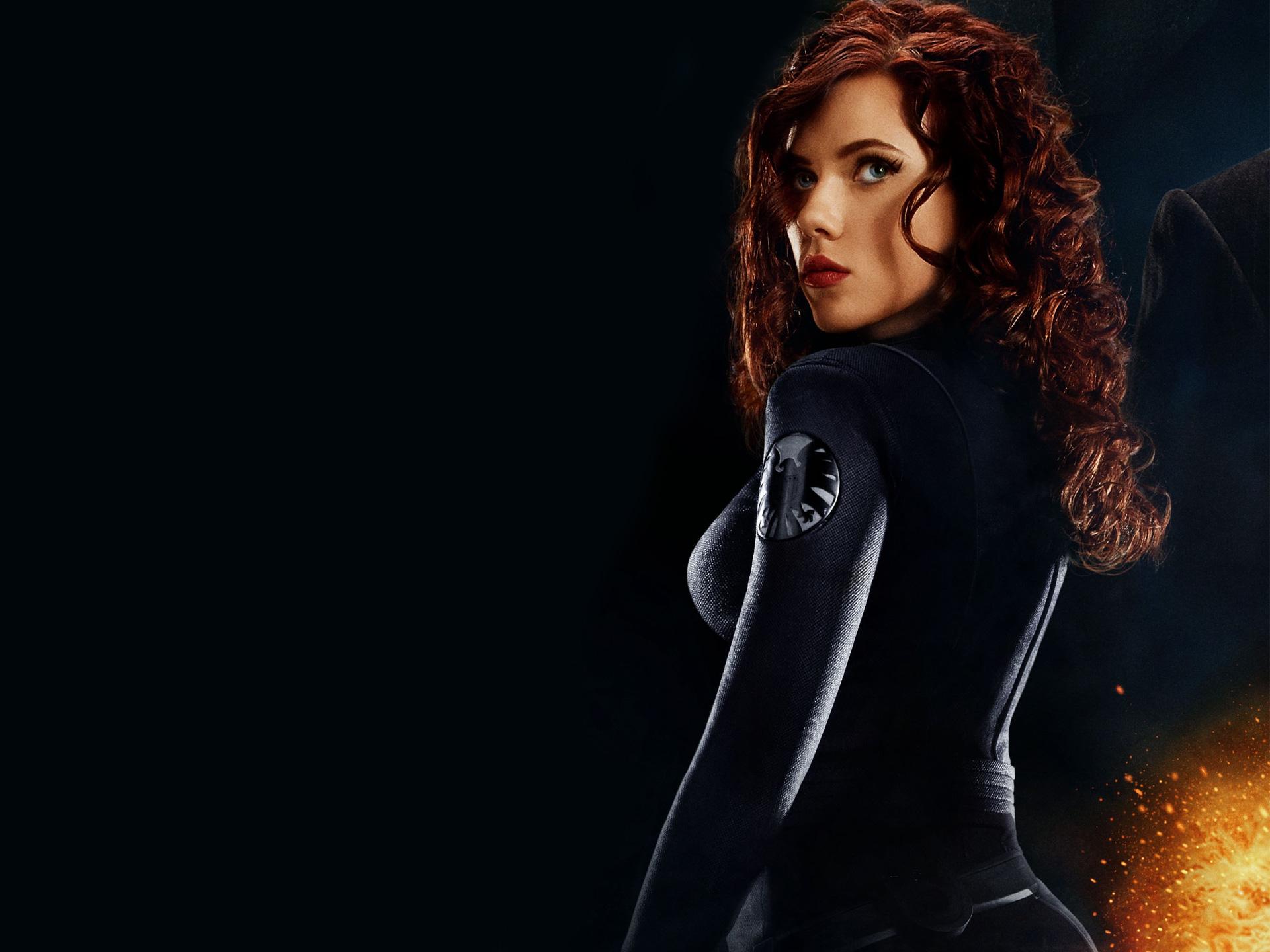 Black widow avengers halloween costume