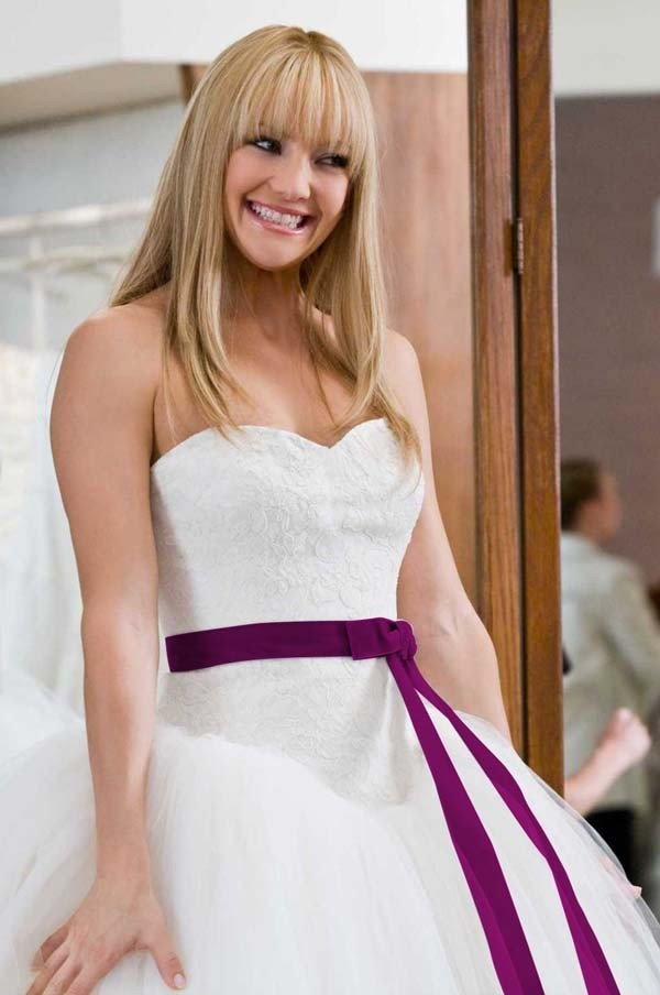 Kate Hudson Bride Wars Wedding Dress