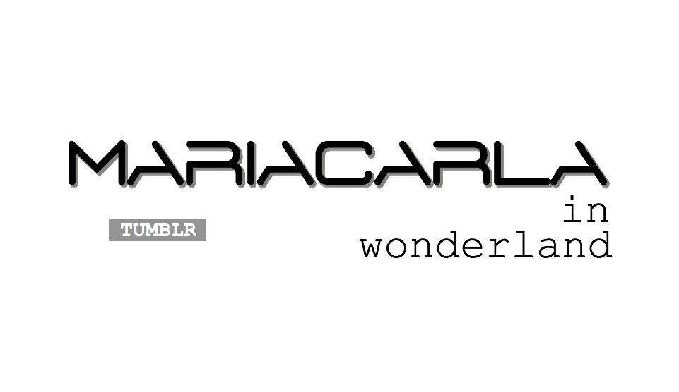 MariaCarla in Wonderland: ALL AROUND THE WORLD