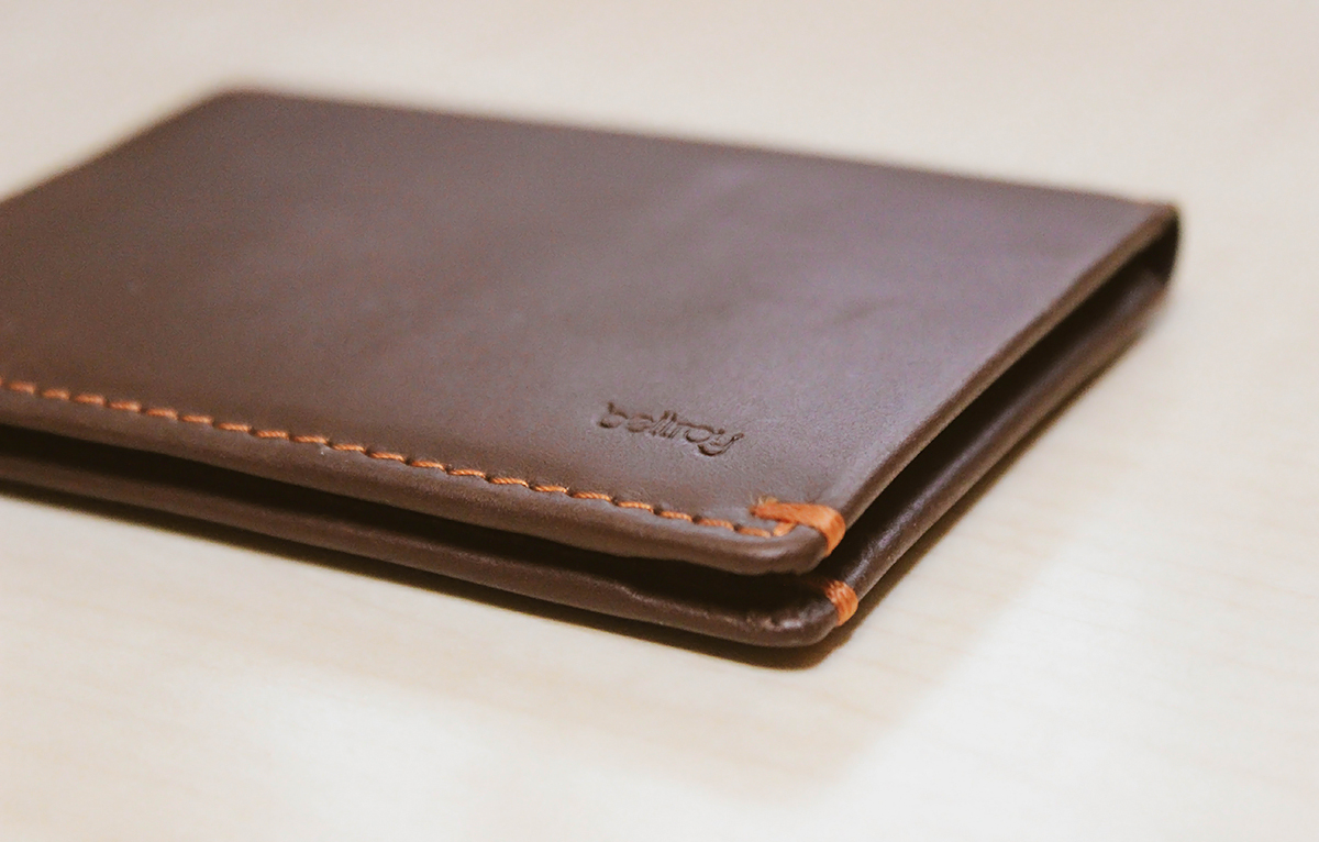 397e2aff5104 Minimal Alternative — Bellroy Slim Sleeve Wallet