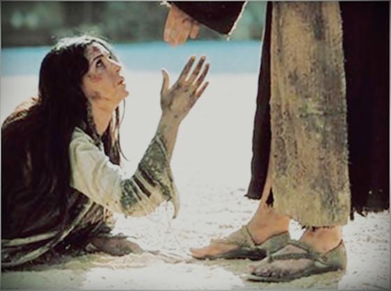 Pequei - Jesus e a pecadora