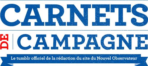 carnets de campagne, le tumblr officiel de la rédaction du site du Nouvel Observateur