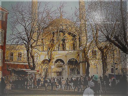 (كأنني اكلت) اسم مسجد في تركيا Masjed-6