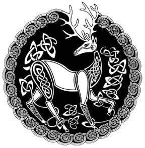 celtic art celtic animal celtic symbols celtic stag tattoo celtic knots celtic design. Black Bedroom Furniture Sets. Home Design Ideas