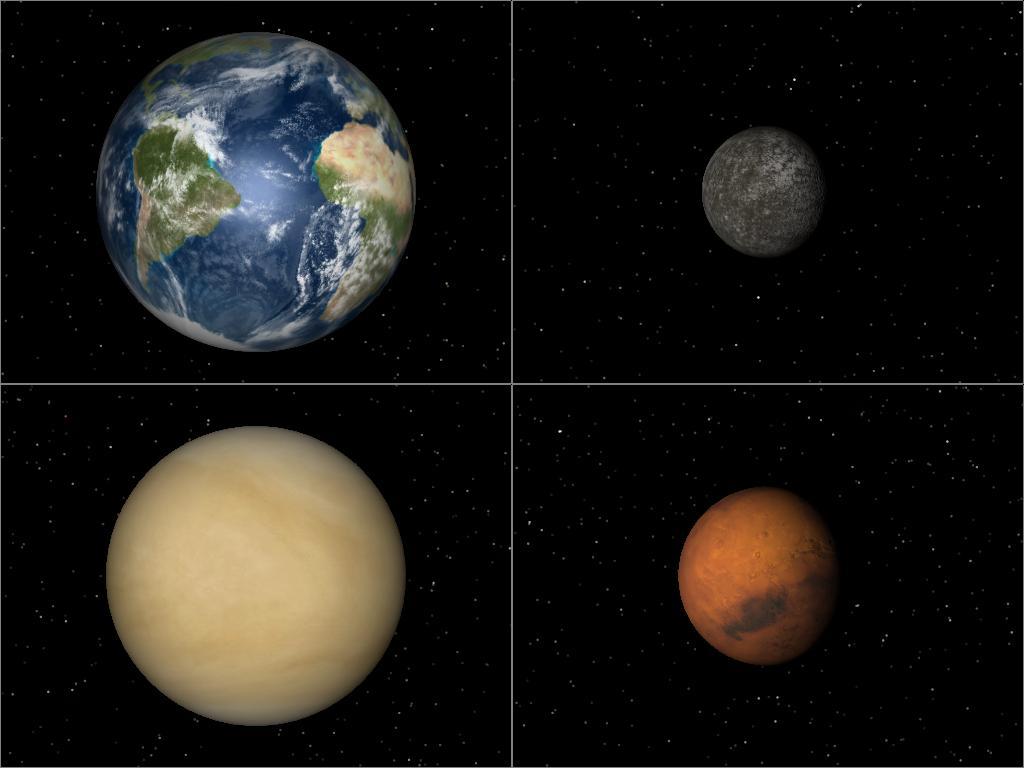 The Eight Planets Mercury Venus Earth Mars Jupiter Saturn ...