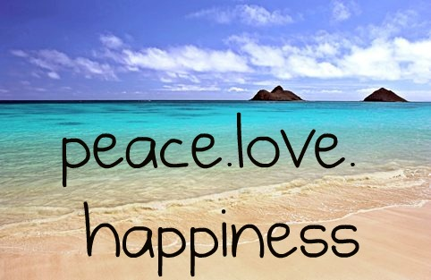 peace,love & happiness! :)