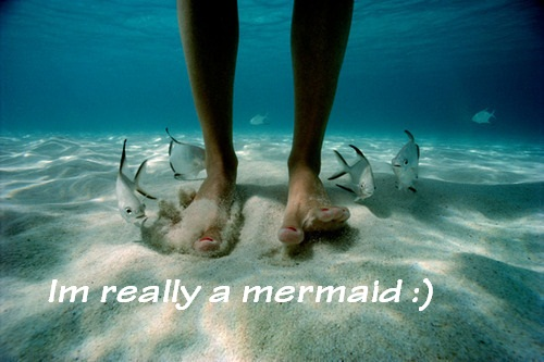 Im really a mermaid :)