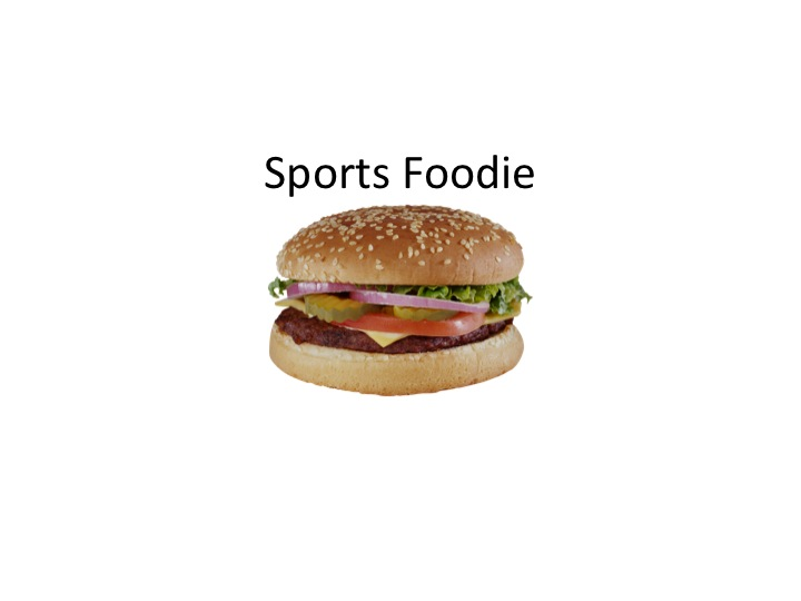 Sports & Food Enthusiast