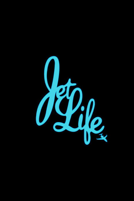AskJet Life Logo In Green