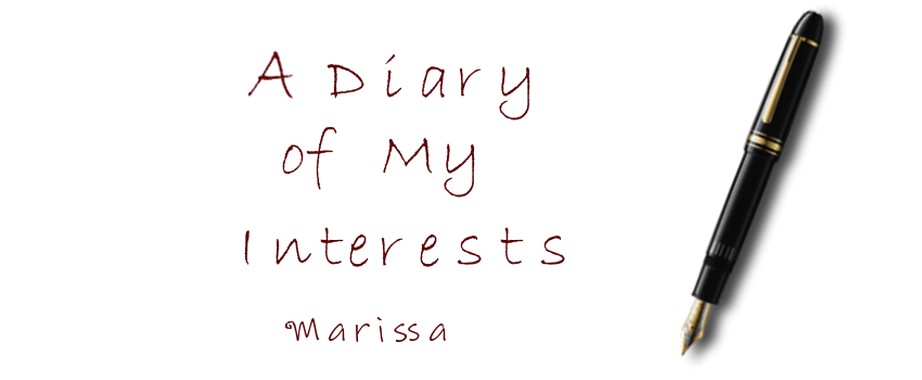 A Diary of My Interests
