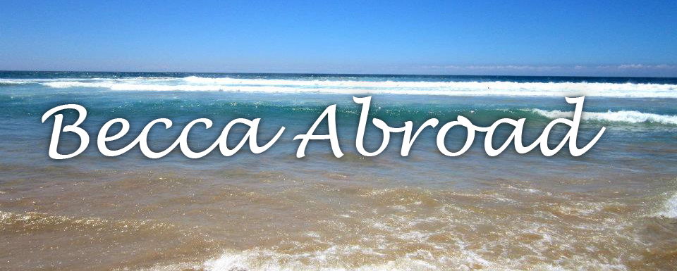 Becca Abroad
