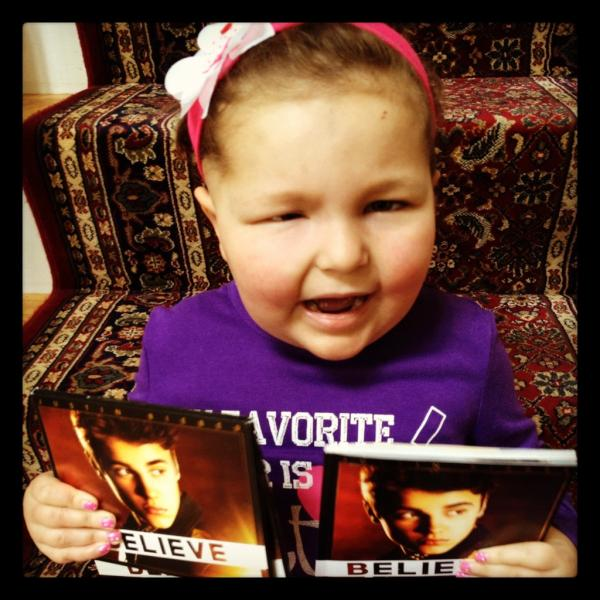 Justin Bieber Crying for Avalanna