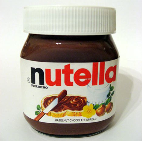 eat nutella