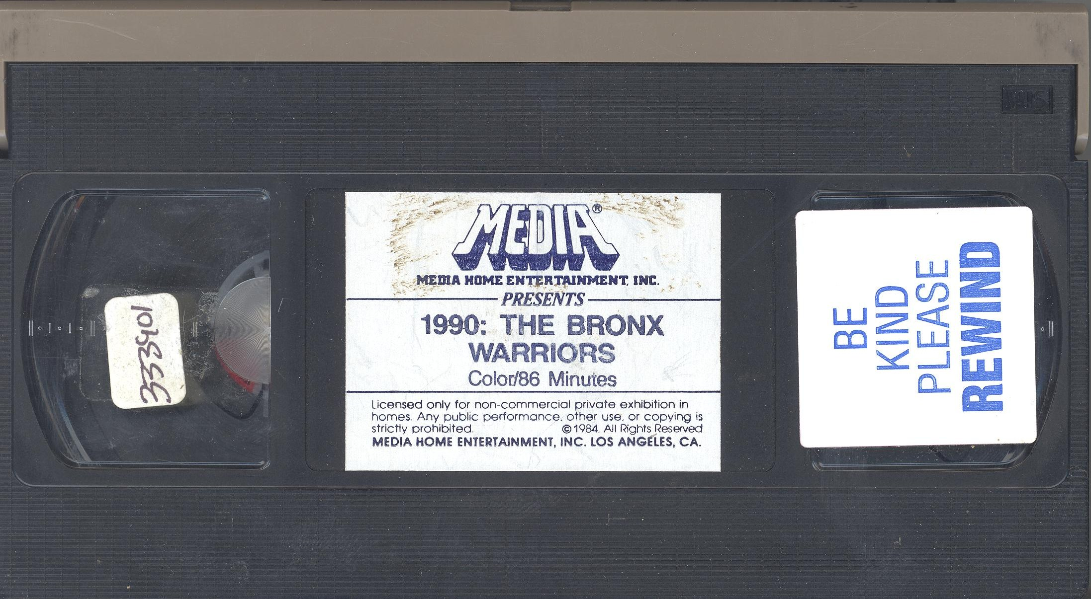 bronx VHS