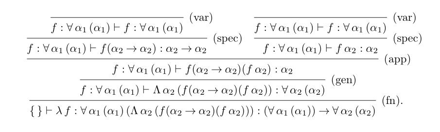 type-derivation