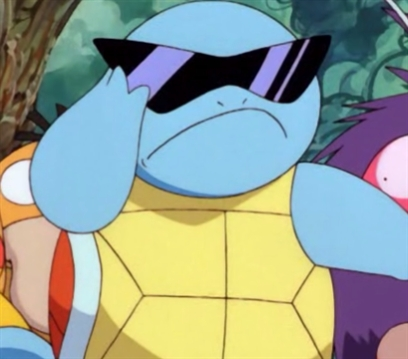 Squirtle With Glasses 53