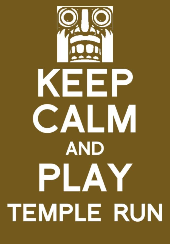 Temple Run Problems
