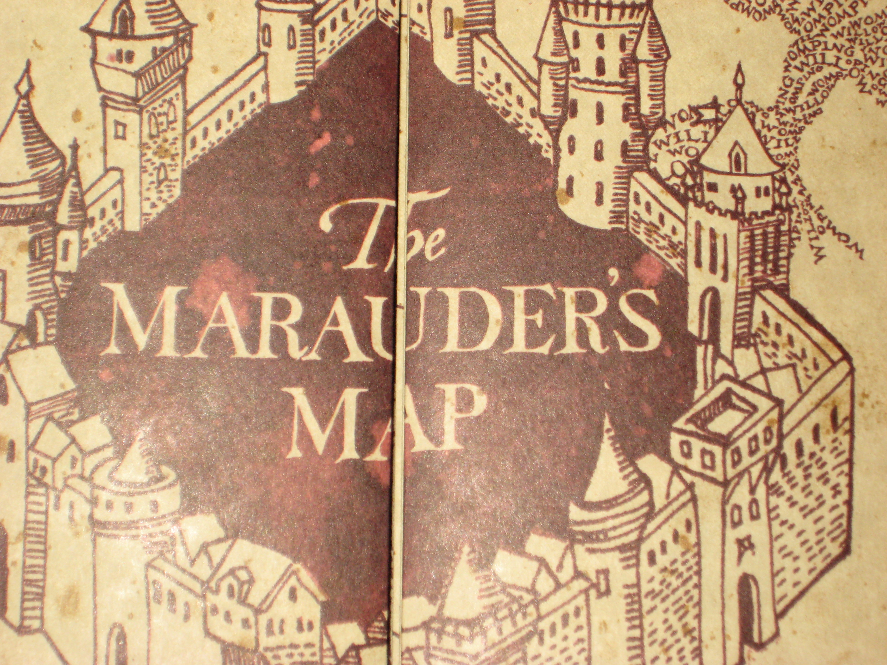 marauders map wallpaper iphone 6