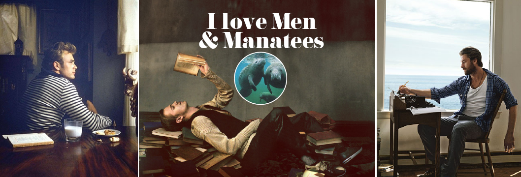 I love men and manatees