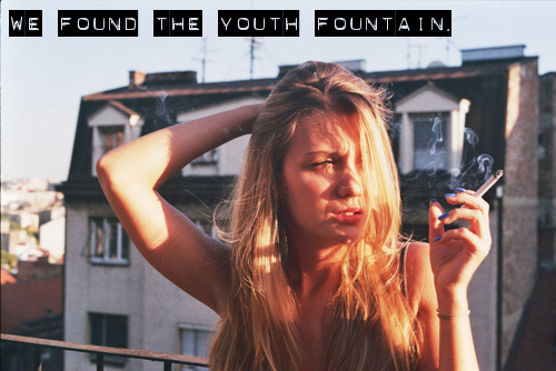 We found the You†h Fountain▲