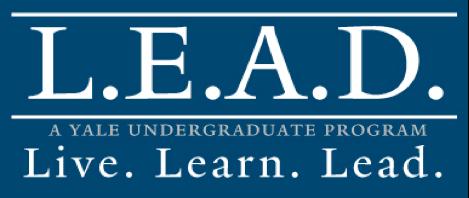 L.E.A.D at Yale Blog