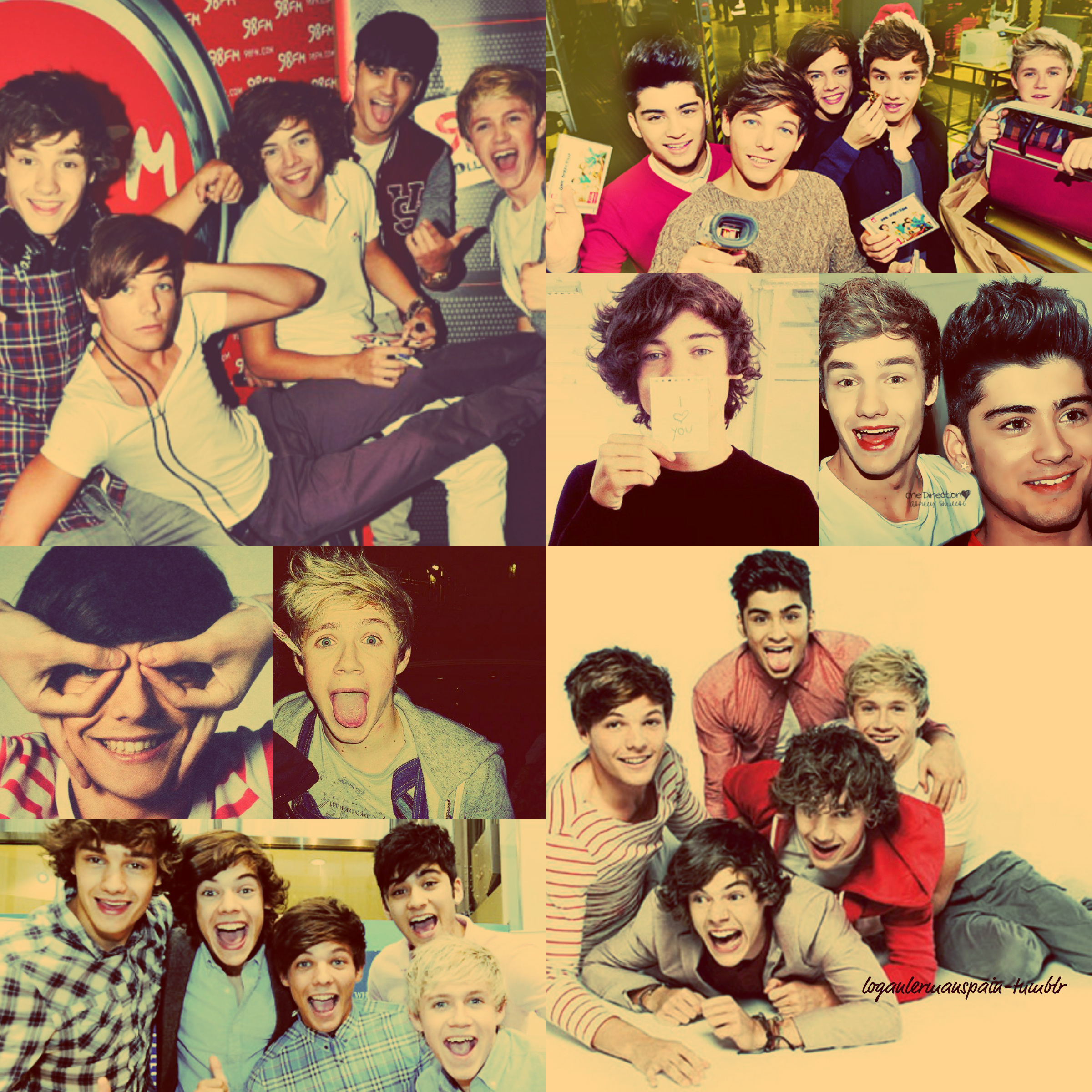 One Direction Collage Tumblr | www.imgkid.com - The Image ...