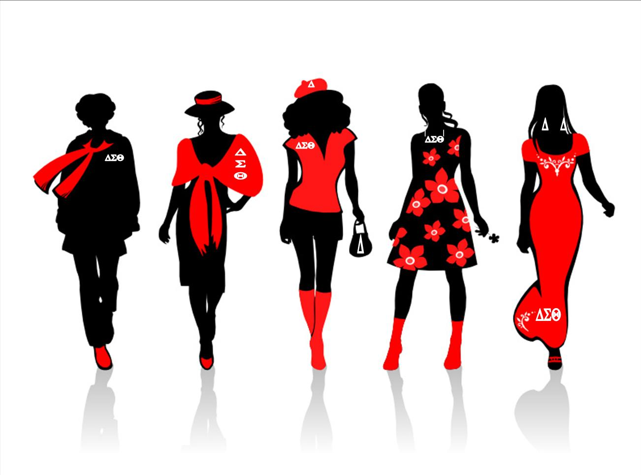 Delta sigma theta the ladies all in red biocorpaavc Gallery